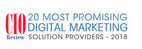 20 Most Promising Digital Marketing Solution Providers - 2018